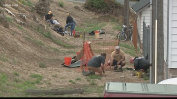 University of Idaho students dig for Moscow history