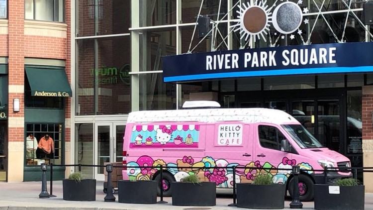 Hello Kitty Cafe truck will return to Spokane's River Park Square