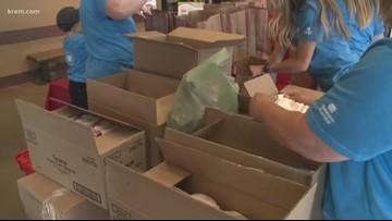 Volunteers needed for the 2019 KREM 2 Diaper Drive at Rosauers
