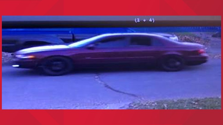 Hit-and-run suspect car