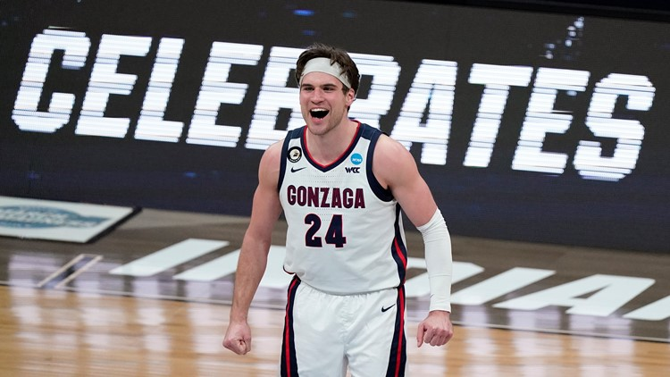 'Spokane will always be my home': Corey Kispert's time at Gonzaga coming to a close