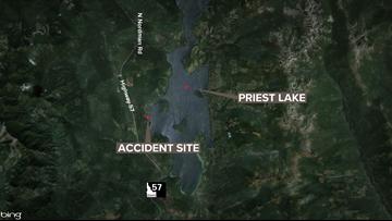 Spokane woman killed after UTV crash near Priest Lake