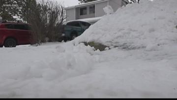 'We're housebound': Some Spokane County neighborhoods haven't been plowed