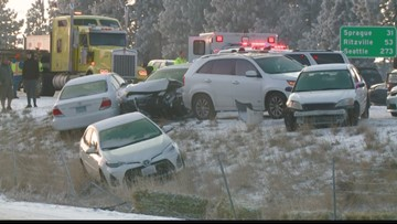 Some drivers caught in I-90 pileup left frustrated by tickets