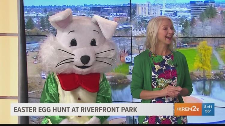 Easter Egg Hunt at Riverfront Park