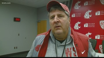 WSU head coach Mike Leach said he never planned on leaving the Cougs