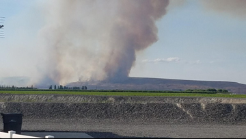 All evacuation notices canceled for 'Powerline Fire' in Grant Co.