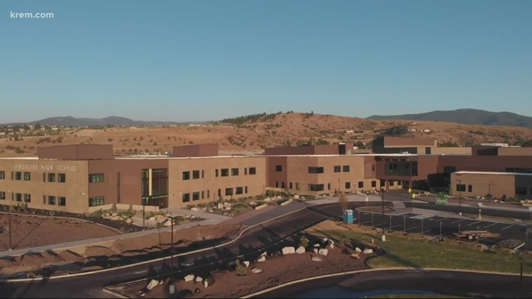 KREM 2's Morgan Trau gives a tour of Ridgeline High School's upper floor