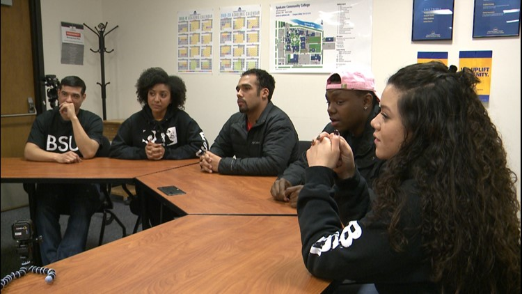 Spokane Community College's Black Student Union talks Black History, race and identity