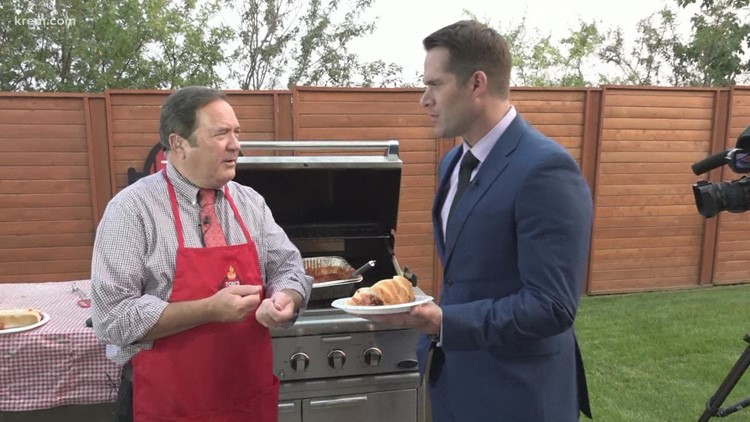 Tom's BBQ Forecast: Grilled Meatballs