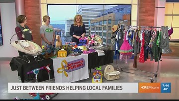 'Just Between Friends' helps local families find the necessities without breaking the bank.
