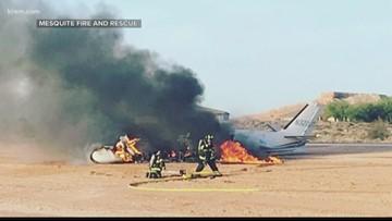 Spokane man injured, arrested after plane crashes in Nevada