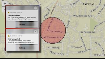 Why a Spokane emergency alert was sent to people outside of impacted area