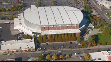Two homeless shelters expected to open Saturday, with one at Spokane Arena