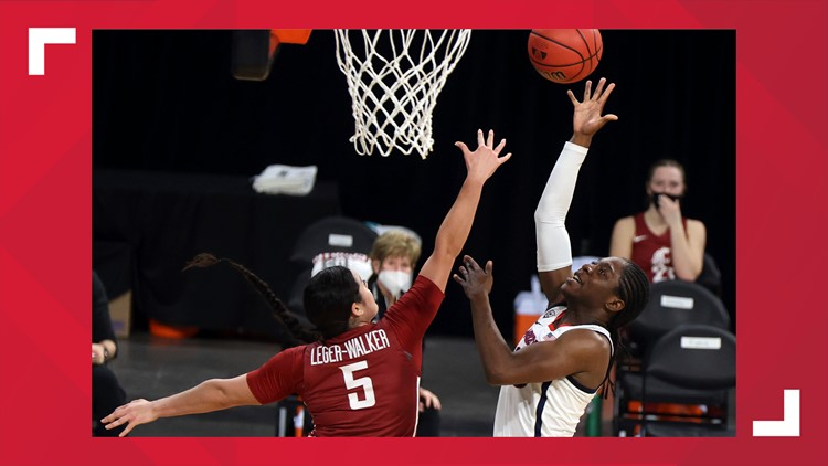 WSU women's basketball loses 60-44 to Arizona in Pac-12 Tournament