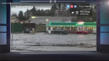 Flooding prompts evacuation in Pullman and other Palouse cities