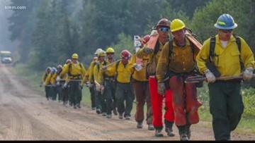 Flash floods hinder progress for crews working to extinguish Williams Flats Fire