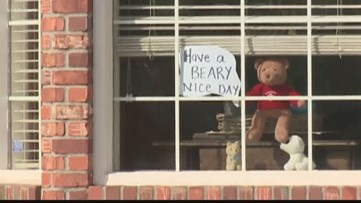 """Going On A Bear Hunt:"" neighbors using stuffed bears to help local kids find adventure"