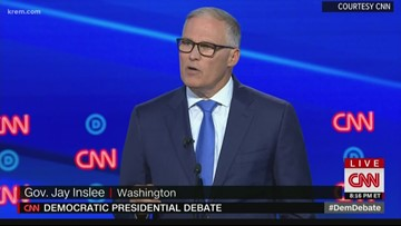 Where Jay Inslee stands for the Democratic debates