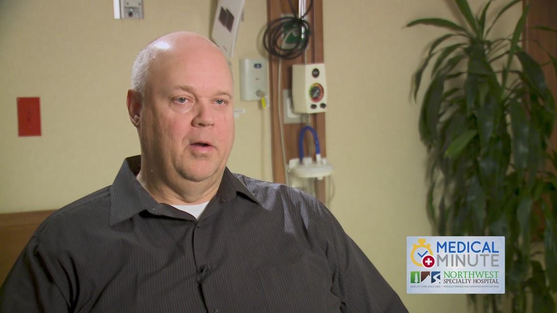 Rick Rasmussen speaks on Northwest Specialty Hospital