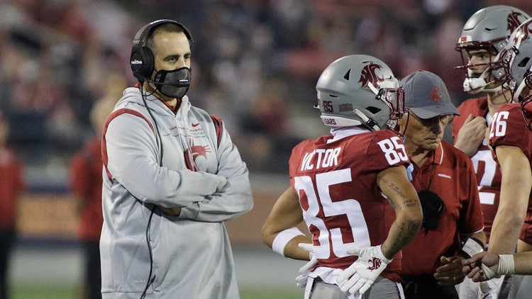 'We were subpar. That starts with me': WSU's Rolovich reflects on loss to Utah State