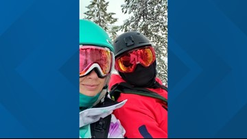 Spokane couple stuck on 49 Degrees North chairlift for second time