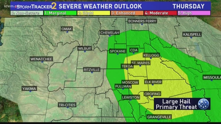 What is severe weather in the Inland Northwest?