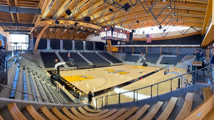 'It took my breath away': University of Idaho unveils new basketball arena