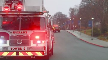 Evacuated Gonzaga students can return to dorms after natural gas leak