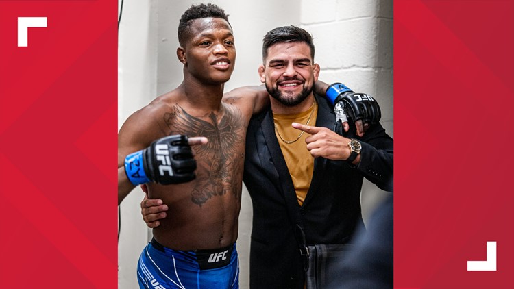Spokane native Terrance McKinney wins UFC debut with seven second knock out