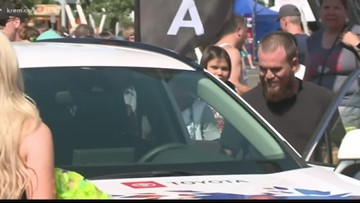 California sharpshooter wins new car at Hoopfest shooting contest