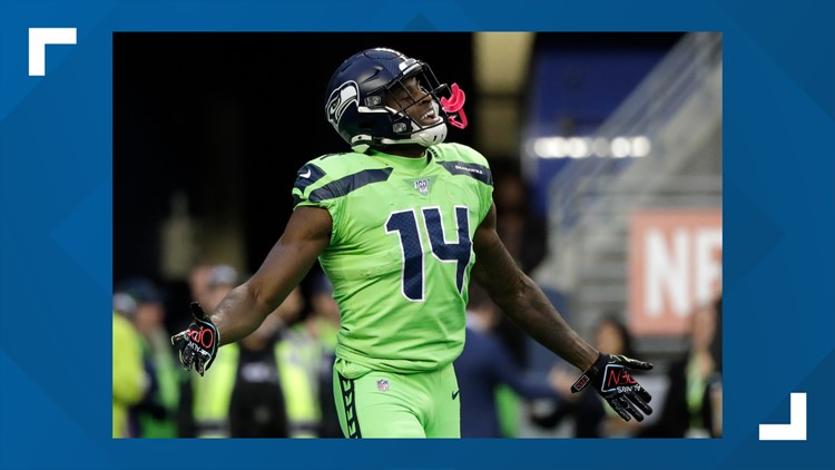 Seahawks wide receiver D.K. Metcalf donates $50K for coronavirus relief