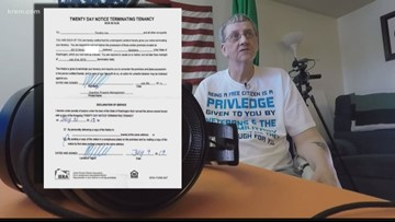 A Spokane veteran was evicted for no reason, and it's legal
