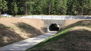 Pedestrian tunnel built in Kootenai Co. helps Boy Scouts travel safely