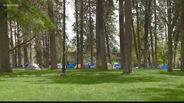 Residents in Spokane's Browne's Addition angry after homeless set up camp in part following eviction