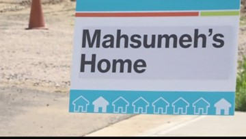 Two families get new homes through Habitat for Humanity