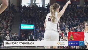 Gonzaga defeats #8 Stanford