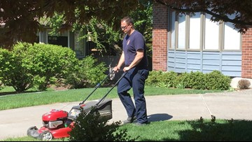 Mowing lawns and saving lives: Spokane Co. firefighters go above and beyond