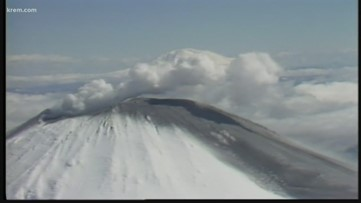 Video show ash fallout from Mount St. Helens eruption 40 years ago