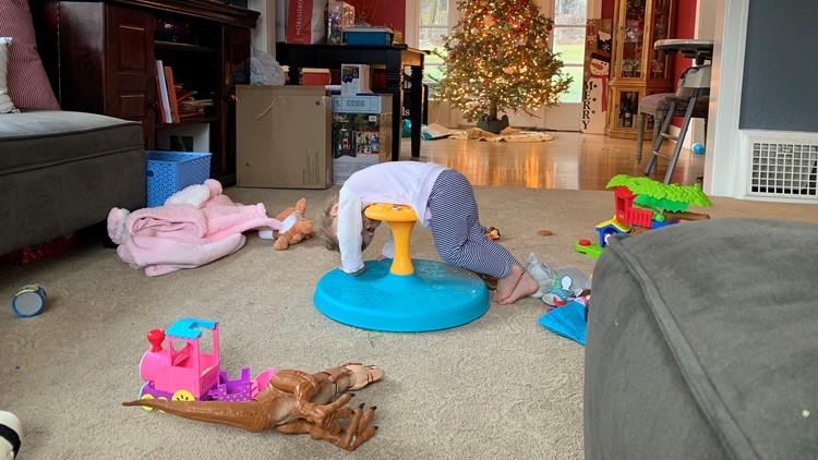 Toddler Post Christmas