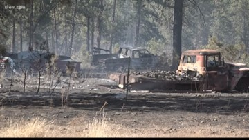 Reservation Field Fire in Stevens County fully contained