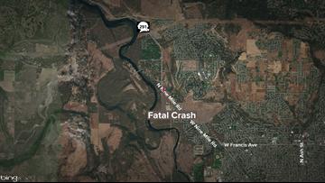One dead, one injured in motorcycle crash near Spokane