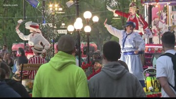 Spokane Lilac Parade marches on despite rain, flooding throughout the week