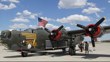 World War II planes on display through Wednesday at Spokane Airport