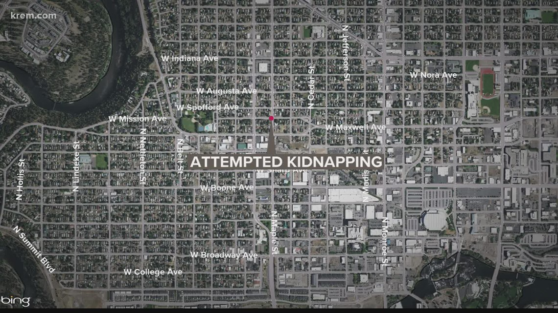 Man who tried to abduct child in Spokane stopped by vigilant neighbor
