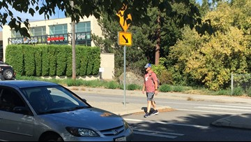 Spokane police want drivers to watch out for pedestrians