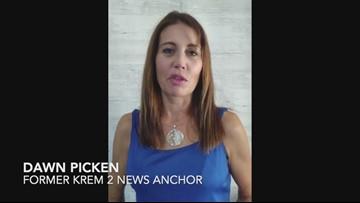 Dawn Picken thanks former KREM co-worker