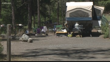 Where you can and can't camp this weekend in Spokane and Idaho