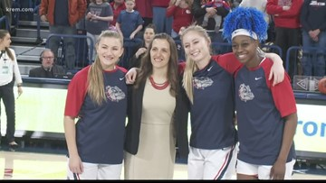 Stockton, Wirth lead No. 16 Gonzaga women past LMU 68-58