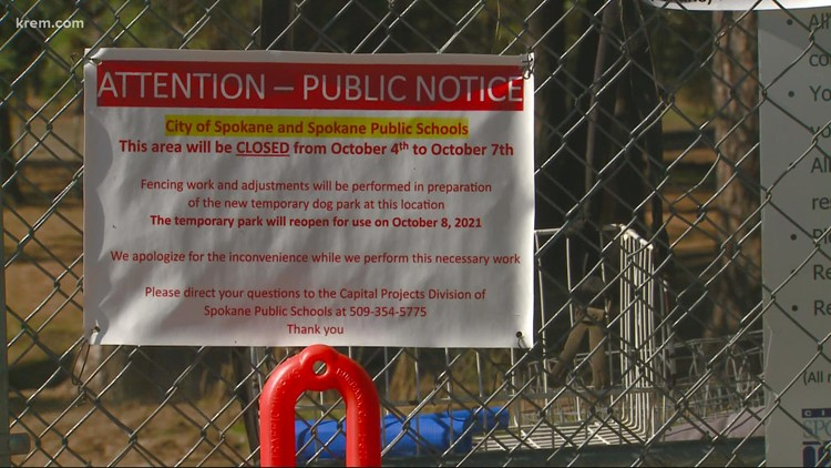 South Hill dog park to be shut down for a new middle school